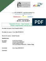 Avantprogram Cupa Romaniei 2016 PROIECT