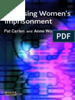Carlen,P. Worral, A (2004). Analysing Women's Imprisonment.docx