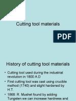 Class27 Cutting Tool Materials
