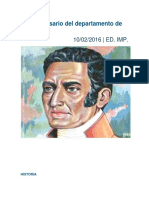 Aniversario Oruro