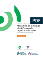 MANTENIMIENTO de AUTOMOTORES Mecanico de Sistemas Electronicos de Inyeccion de Nafta