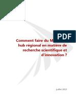 Rapport General Innovation