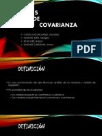 Análisis de Covarianza Metodologia de La Investigacion Seccion 4922