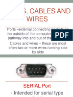 PORTS, Cables and Wires