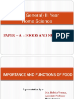 Foods LET Review