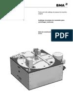 Manual centrifuga de azucar