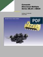 Comando Direcional Multiplo Ml25 Md25