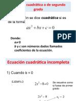 ecuacion cuadratica 3
