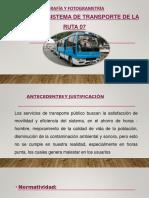 Diapositivas Ruta 07 tacna