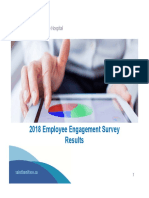 St. Boniface Hospital 2018 Employee Engagement Survey Results