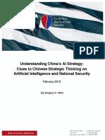 CNAS Understanding Chinas AI Strategy Greg C. Allen