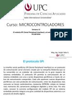 Módulos SPI e I2C