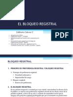 El Bloqueo Registral