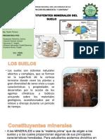 CONSTITUYENTES MINERAL DEL SUELO ....pptx