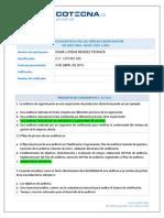 Modulo 1-Taller 01 El Rol Del Lider Del Equipo Auditor. DIANA LORENA MENDEZ PEDRAZA