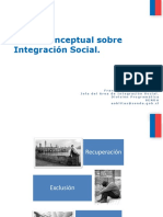 Marco Conceptual Integracion Social