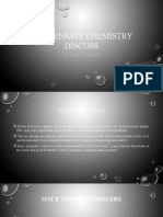 Condensate Chemistry Discuss.pptx