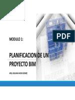 Planificación de un proyecto BIM