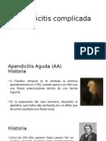 Apendicitis Complicada
