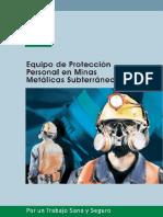 WORD Equipos de Proteccion Personal en Minas Metalicas Subterraneas