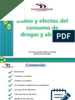 Daños por el consumo de alcohol y sustancias psicotrópicas