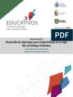 Desarrollo de Liderazgos para el Aprendizaje en el Siglo XXI, un Enfoque Sistémico