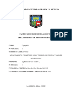2° Informe. Agrimensura