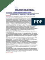 37975893 La Logistica y El Transporte Por Carretera
