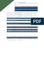 Cronograma Estudios Ergonomicos