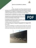 Diagnóstico de Desarrollo Urbano