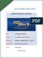 Sistemas de Informacion 1 - Adm 301
