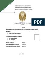 QU517C_Informe5_Marcha Analitica de Separacion de Cationes Del Cuarto Grupo