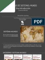 Sistema Mundo i. Wallerstain (1)