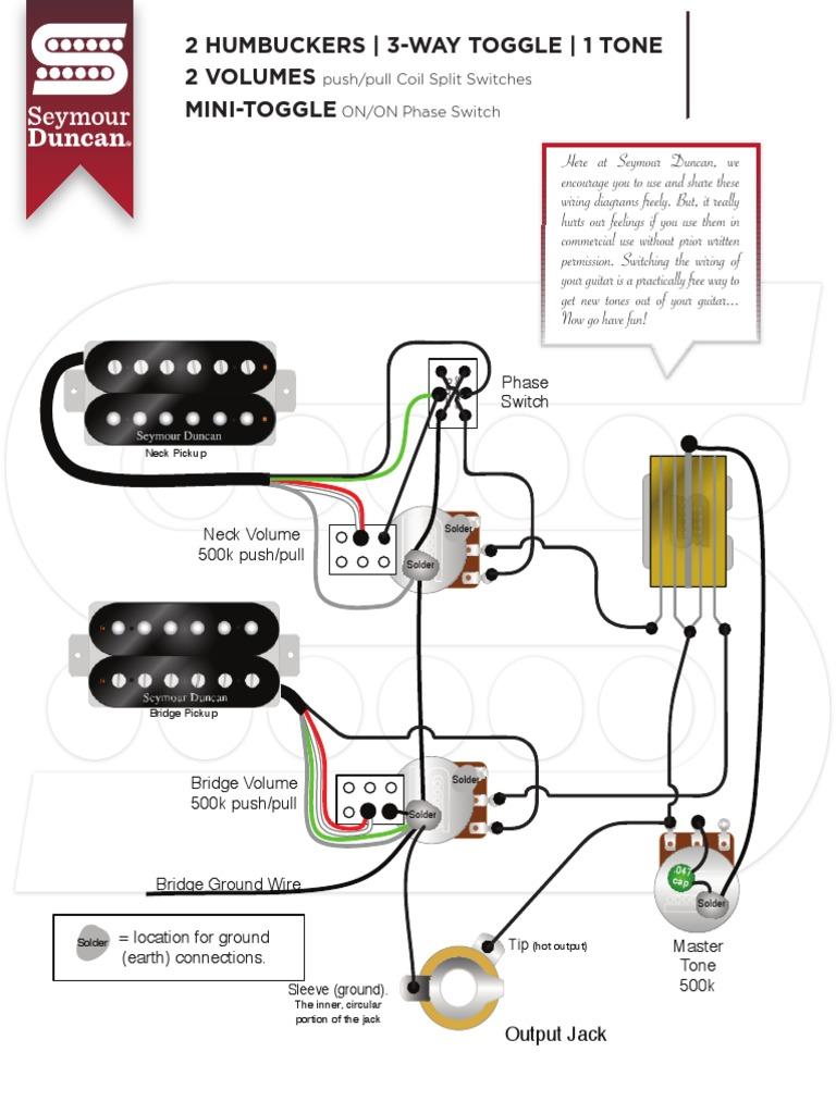 Seymour Duncan Wiring Diagrams 1 Volume 1 Push Pull Tone 3 Way John Deere 318 Wiring Diagram Begeboy Wiring Diagram Source