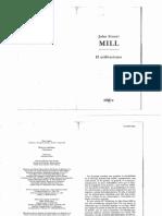 Mill Stuart_ Que Es El Utilitarismo (18 Copias)