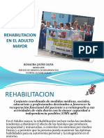Rehabilitacion en El Adulto Mayor1