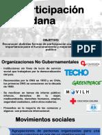 Ong y Movimientos Sociales