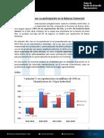 Informe CEDMA - ER Crece su participación en la Balanza Comercial