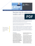 Part 1 - Decision Tree for Addressing Surplus Cash in a Corporation