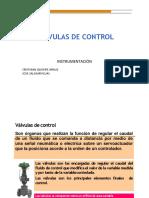 8 Válvulas de Control 2016 Convertido
