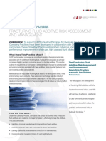 Fracturing Fluid Additive Risk Assessment