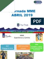 Jornada i Mme 2019