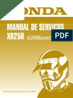 Manual de servico XR 250 Tornado 2001.pdf