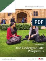 The University of Adelaide 2018