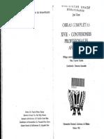 Gaos, José - Confesiones Profesionales