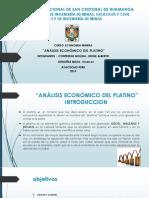 Analisis Económico Del Platino