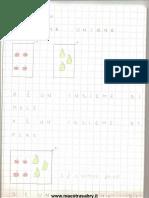 Quaderno Matematica Classe Prima Sonia4