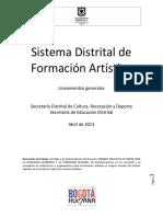 2013 Lineamientos Generales Sistema Form Art (1)