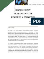 Tratamiento de Residuos y Emisiones DT-AM01-002
