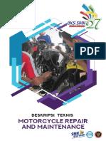 Deskripsi Teknis LKS SMK 2019 - Motorcycle Repair and Maintenance
